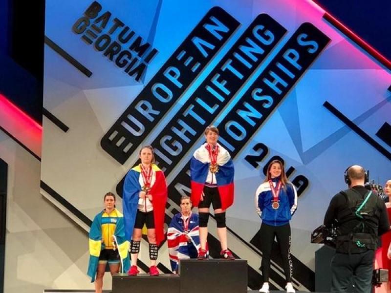 Încă o botoșăneancă pe podiumul Campionatului European de Haltere!