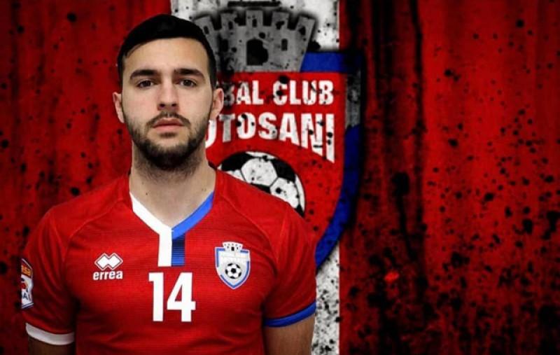 Încă o pierdere pentru FC Botoșani: Alessio Carlone și-a anunțat retragerea la doar 24 de ani!
