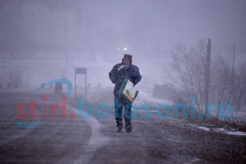 Încă trei zile geroase la Botoşani! Estimări meteorologice pentru următoarea săptămână