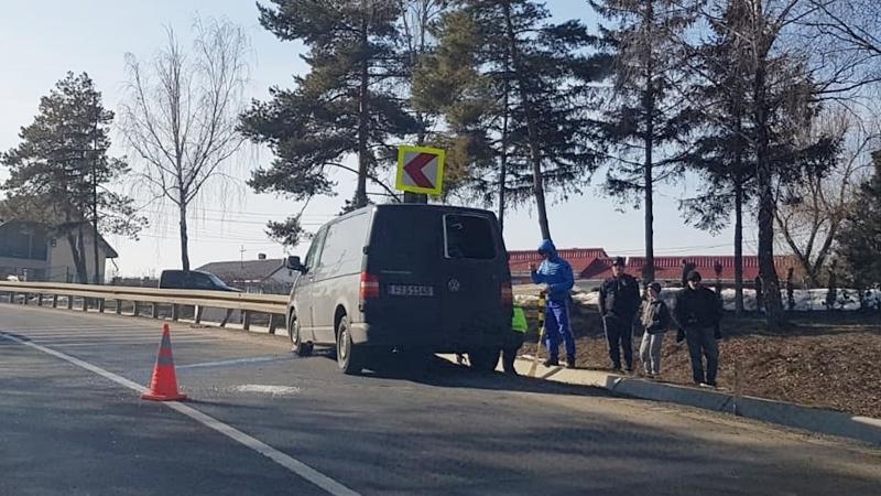 Încă un accident rutier grav! O fetiţă a ajuns la spital FOTO