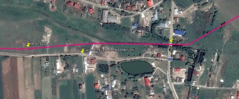 Încă un pas pentru șoseaua de centură a municipiului Botoșani prin Curtești