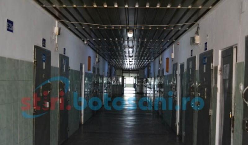 Încarcerat la Penitenciarul Botoșani pentru furt calificat după ce s-a ascuns de poliție