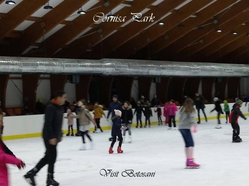 Încasări peste așteptări la patinoarul din Parcul de agrement Cornișa!