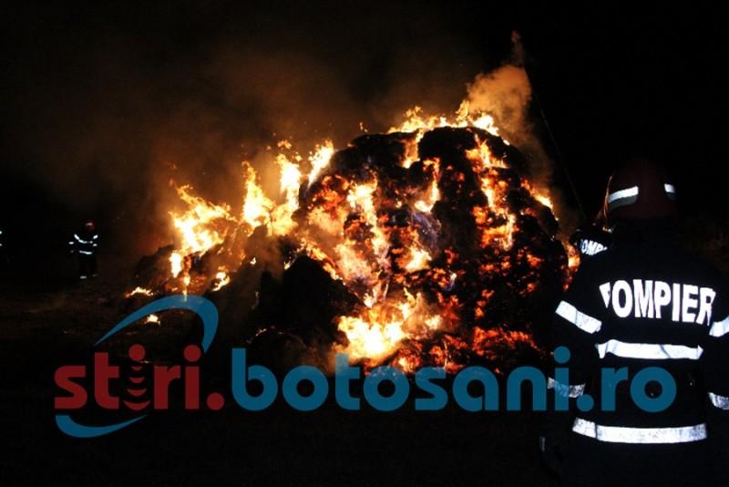 Pagube în mai multe gospodării din județul Botoșani, în urma unor incendii!