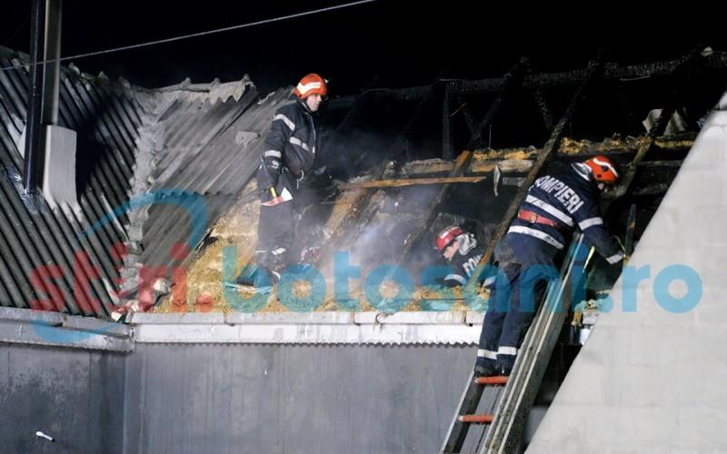 Incendii în patru gospodării din județul Botoșani!