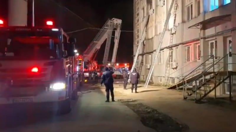 Incendiu la Terapia Intensivă a Spitalului din Piatra Neamț. Cel puțin 7 persoane decedate
