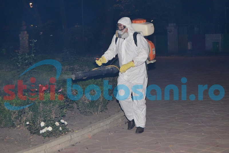Încep operațiunile de dezinsecție în municipiul Botoșani!