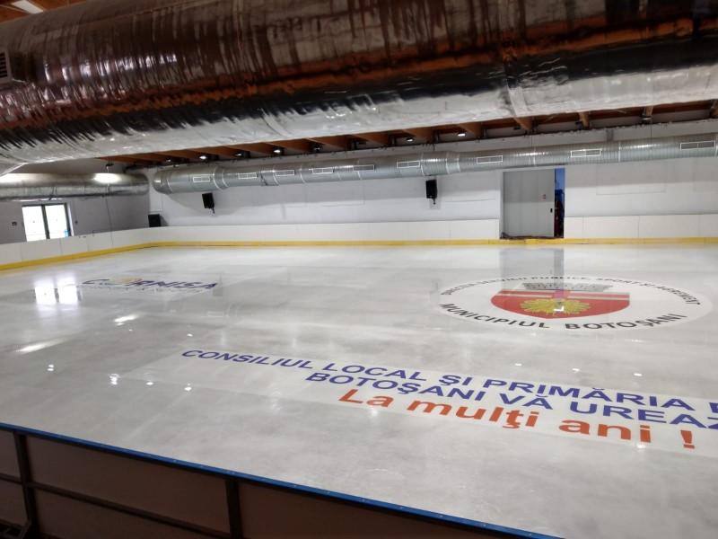 Încep testele la patinoarul din Parcul de Agrement Cornișa