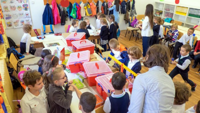 Începe înscrierea copiilor la clasa pregătitoare. Prima etapă, între 4 şi 23 martie