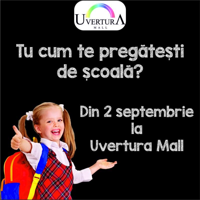 Începe toamna cu Uvertura Mall!