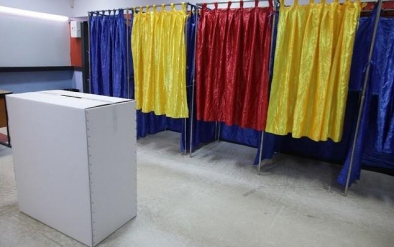 Incident la o secție de votare din județ. A fost solicitat un echipaj de poliție