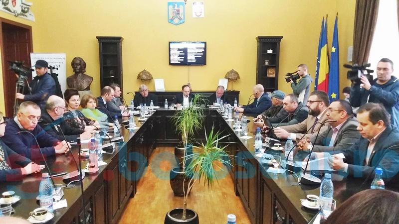 Indemnizații mai mari pentru consilierii locali din Botoșani