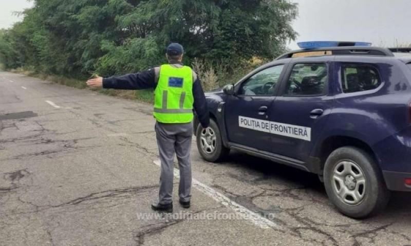 Infracțiuni în regim rutier anchetate de polițiștii de frontieră
