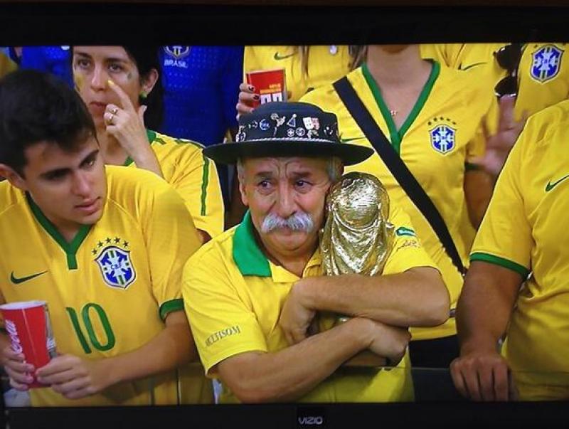 Înfrângerea dramatică a naţionalei Braziliei a provocat cele mai multe glume şi ironii pe reţelele sociale - FOTO, VIDEO
