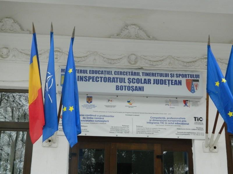 Inspector general adjunct nou la ISJ Botoșani!