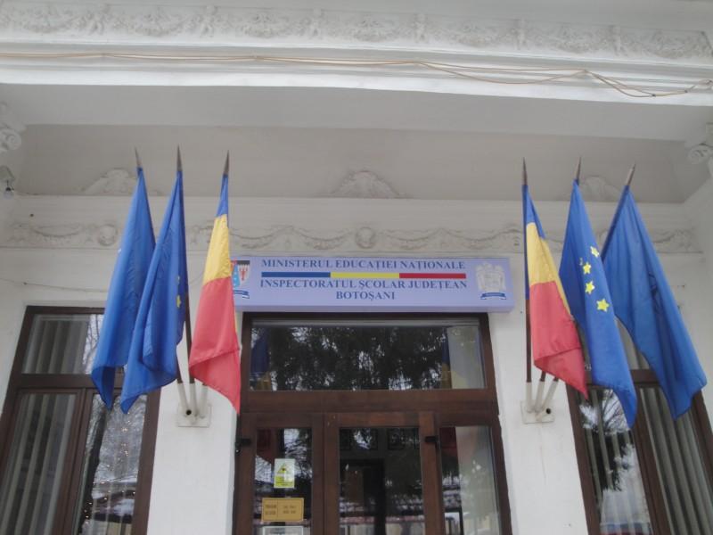 Inspector general cu acte în regulă la Inspectoratul Școlar Botoșani