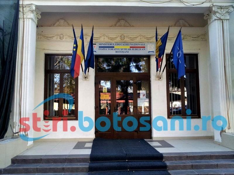 Inspectoratul Școlar al Județului Botoşani anunţă organizarea concursului pentru ocuparea funcțiilor vacante de director și de director adjunct din unitățile de învățământ de stat din județul Botoşani