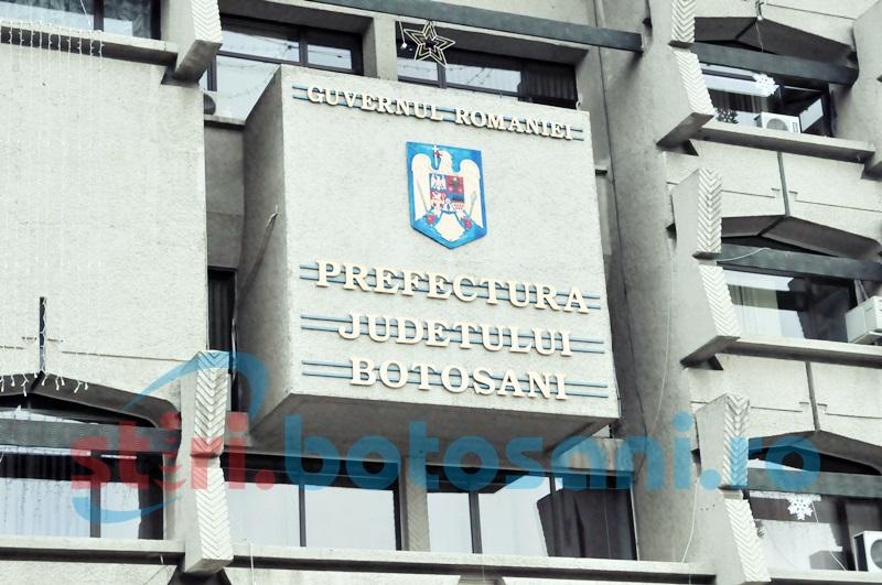 Instituția Prefectului din Botoșani face angajări