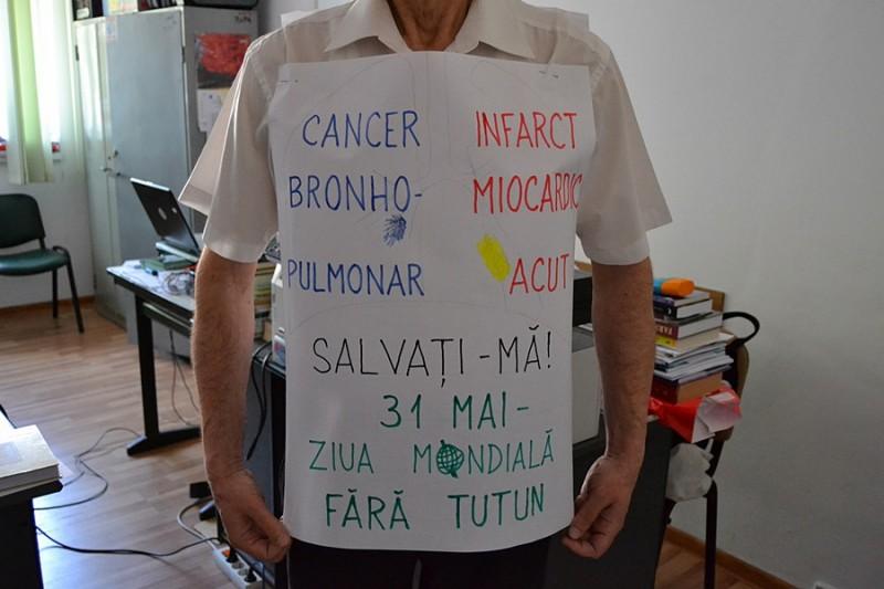 Instituţii implicate în lupta împotriva fumatului! FOTO