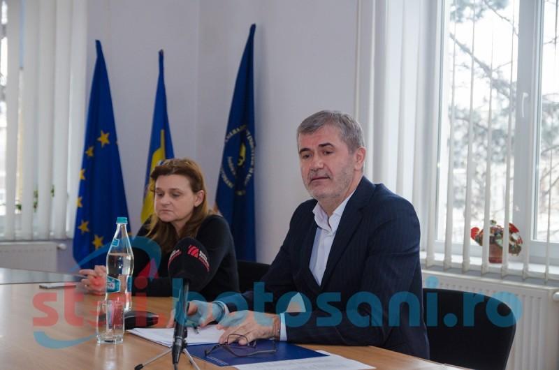 Întâlnire cu oamenii de afaceri organizată de Camera de Comerţ, Industrie şi Agricultură Botoşani