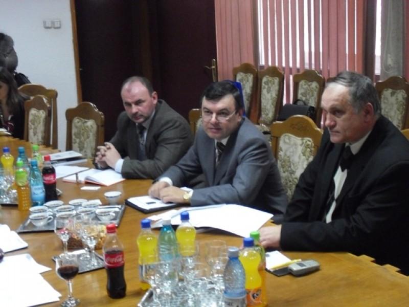 Intalnire de inalt nivel dintre sefii judetului si reprezentantii Consulatului General al Ucrainei din Suceava