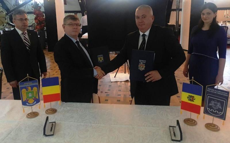 Întâlnire de lucru româno-moldoveană, la Botoşani - FOTO
