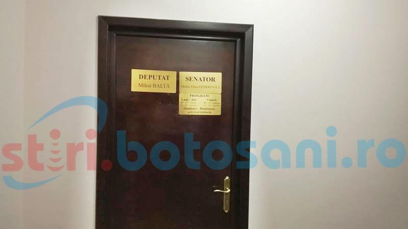 Întâlnire surpriză în biroul unui senator de Botoșani-FOTO