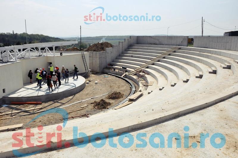 Întârzieri la Proiectul Cornișa și cel privind Teatrul Mihai Eminescu