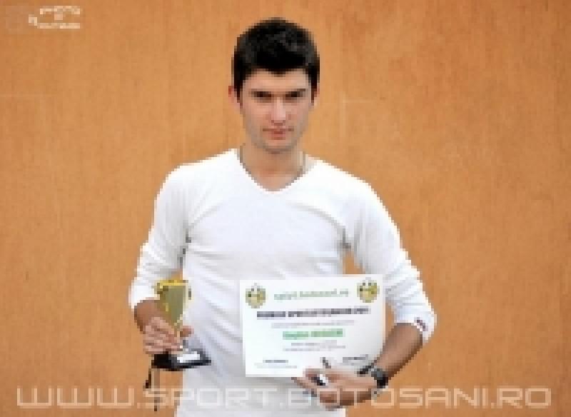 "INTERVIU | Sport.Botosani.ro l-a premiat pe Bogdan Iodache: ""Abia dupa meci ne-am dat seama ca am jucat cu stadionul plin"""