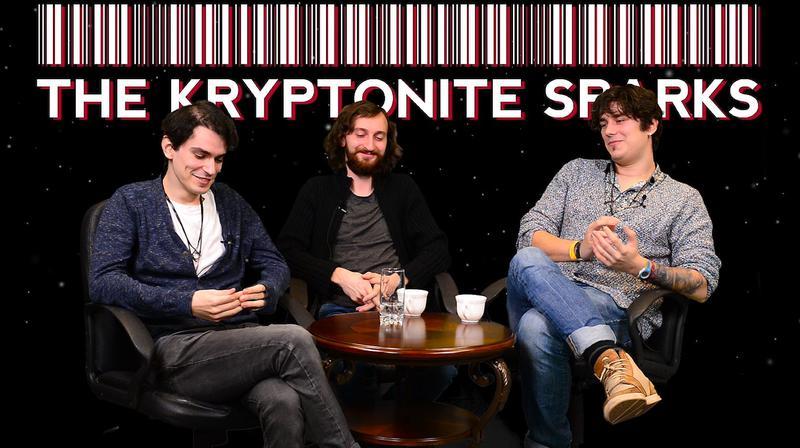 """Interviu The Kryptonite Sparks, """"cea mai buna trupa britanica"""" din Romania sau cei trei muschetari intergalactici din Botosani"""
