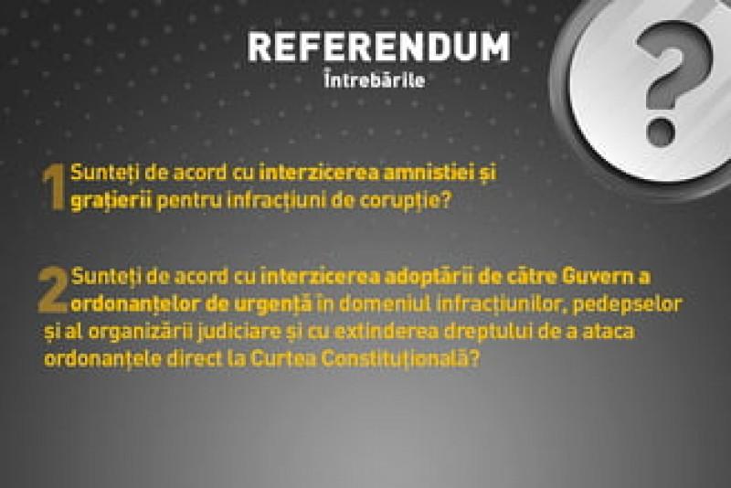 Întrebările care ne sunt puse la referendumul pentru Justitie, explicate!