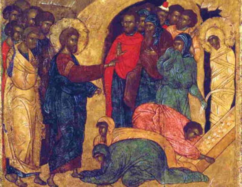 Învierea lui Lazăr, prietenul lui Iisus - VIDEO