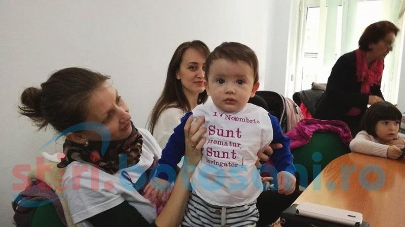 Învingătorii născuţi la Maternitatea Botoşani, sărbătoriţi de cadrele medicale – FOTO
