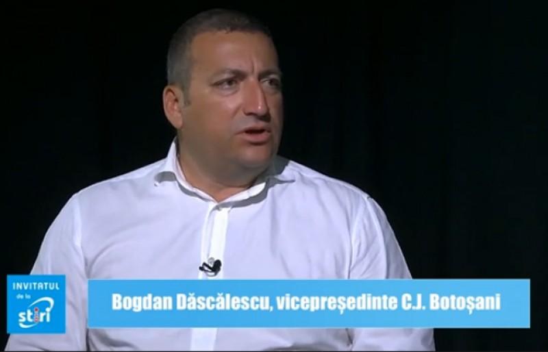 Invitatul de la Știri - Bogdan Dăscălescu, vicepreședintele Consiliului Județean Botoșani