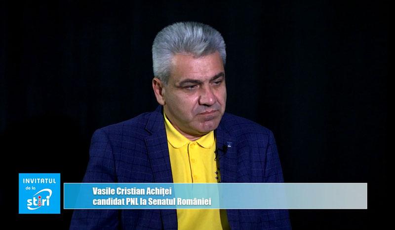 Invitatul de la Știri – Candidatul PNL Botoșani la Senatul României, deputatul Cristian Achiței