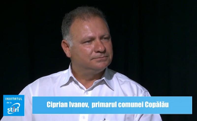 Invitatul de la Știri - Ciprian Ivanov, primarul comunei Copălău