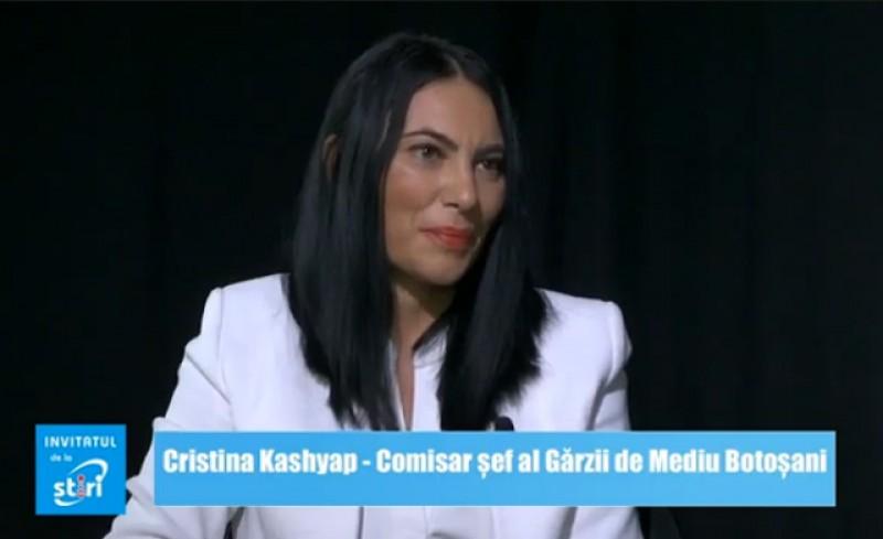 Invitatul de la Știri - Cristina Kashyap, Comisar șef al Gărzii de Mediu Botoșani