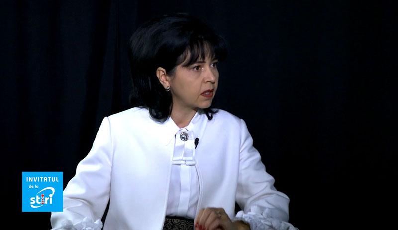 Invitatul de la Știri – Doina Elena Federovici, președintele Partidului Social Democrat Botoșani