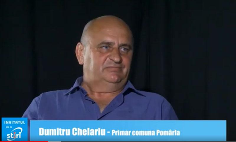 Invitatul de la Știri - Dumitru Chelariu, primarul comunei Pomârla