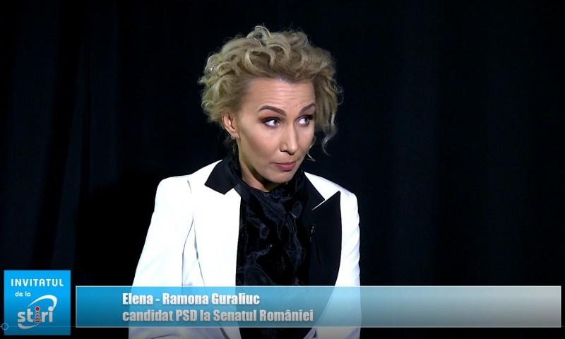 Invitatul de la Știri – Elena Ramona Guraliuc, medic primar, șeful Unității de Primiri Urgențe Botoșani, candidatul PSD pentru Senatul României