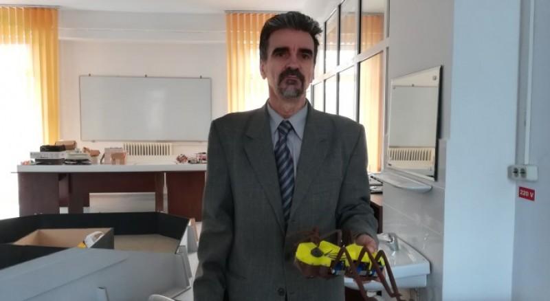 Ioan Doroftei, spiritul inovator al unui specialist în robotică!