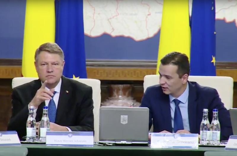 Iohannis prezideaza sedinta de Guvern. Executivul nu va adopta azi ordonantele de urgenta pentru gratiere si pentru modificarea codului penal!