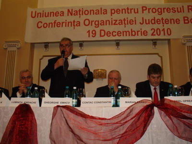 Ion Domonco si Manuela Zarug, in conducerea UNPR Botosani