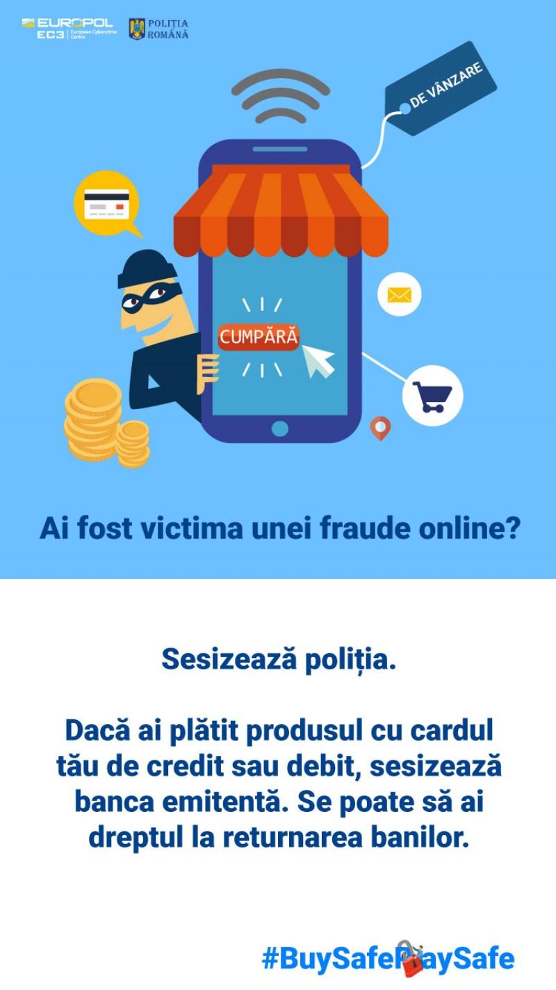 IPJ Botoșani: Recomandări pentru cumpărături online în siguranță!