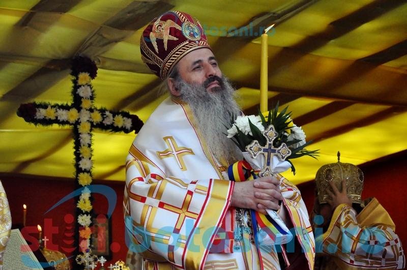 ÎPS Teofan, către botoşăneni: Sper că geniul Sfântului Gheorghe va prinde puţină rădăcină şi în sufletele noastre FOTO, VIDEO