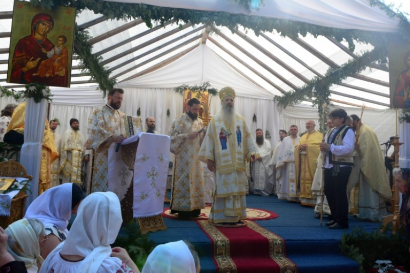 IPS Teofan, pentru prima dată la hramul Mănăstirii Guranda!