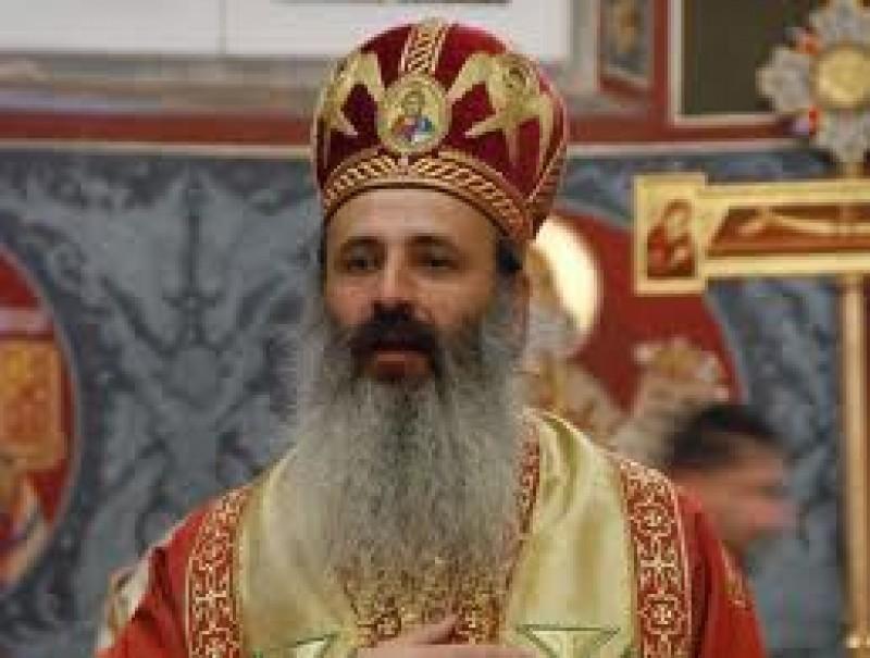 "IPS Teofan va oficia, duminica, Sfanta Liturghie la Biserica ""Sfanta Treime"" din Botosani"