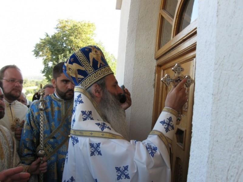IPS Teofan va sfinți, sâmbătă, paraclisul Mănăstirii Cozancea
