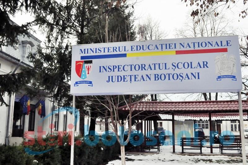 IȘJ Botoșani: 44,56% rata de promovare a concursului național de titularizare la nivelul județului, după soluționarea contestațiilor