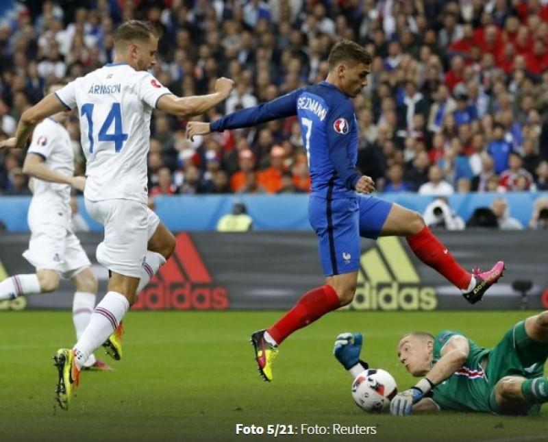 Islanda a părăsit EURO 2016 cu capul sus! Franța a eliminat surpriza turneului cu scorul de 5-2!